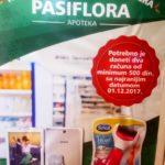 Новогодишња наградна игра – Апотека Пасифлора – 2018